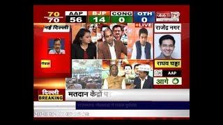 Delhi Election Result PART 3 : रुझान देख AAP दफ्तर में जश्न, BJP को अभी भी उम्मीद