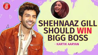 Kartik Aaryan: Shehnaaz Gill Should Win Bigg Boss 13 | Sara Ali Khan | Love Aaj Kal | Salman Khan
