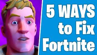 5 Ways to Fix Fortnite Season 2