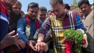 Akabruddin Owaisi Ne 50 Lakh Ke Water Works Ke Kaam Ka Ifteda Kiya   @ SACH NEWS  