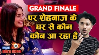 Bigg Boss 13 Grand Finale | Who Are Invited From Shehnaz Gill Family | BB 13 Latest Update