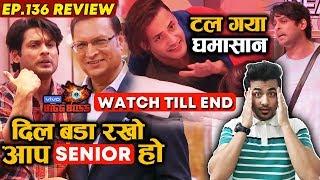 Bigg Boss 13 Review EP 136 | Sidharth Shukla Vs Asim Riaz | Rajat Sharma Class | Rashmi | Shehnaz
