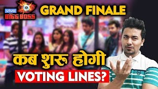 Bigg Boss 13 Grand Finale VOTING LINES | When Will It Begin? | BB 13 Latest Video