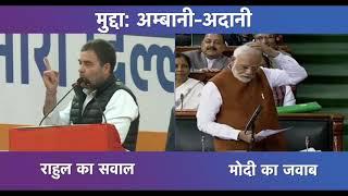 सुनिए मोदी जी का जवाब जब राहुल गांधी ने प्रधानमंत्री से पूछा अमीरों की सरकार चलाने का सवाल