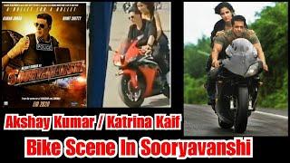Akshay Kumar & Katrina Shoots A Song On Bike, Reminds Me Of Salman Khan's Bike Scene In Ek Tha Tiger