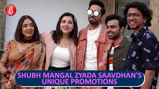 Ayushmann Khurrana, Jitendra Kumar & Team Shubh Mangal Zyada Saavdhan's Unique Promotions