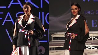 Neha Dhupia on Ramp In Lfw Sr 2020 | News Remind