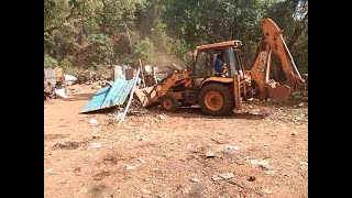 Finally Scrapyards In Bhoma-Adcolna Razed To Ground
