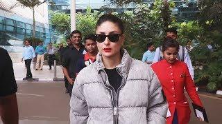 Beautiful Kareena Kapoor Khan Spotted At Mumbai Domestic Airport