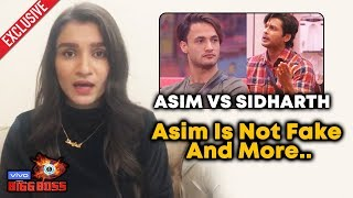 Shefali Bagga Reaction On Asim Riaz Vs Sidharth Shukla JOURNEY | Bigg Boss 13 Exclusive
