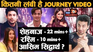Bigg Boss 13 Grand Finale | Run Time Of TOP 6 Finalist Journey Revealed | Sidharth Asim Shehnaz