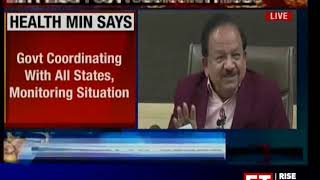 Coronavirus: All measures taken to contain spread, says Harsh Vardhan