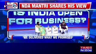Piyush Goyal speak on foreign investments and the economy in India at Times Now Summit 2020