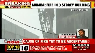 Fire breaks out at office complex in Mumbai's Andheri