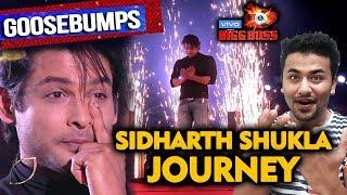 Bigg Boss 13 Grand Finale | Sidharth Shukla JOURNEY | Goosebumps | BB 13 Video