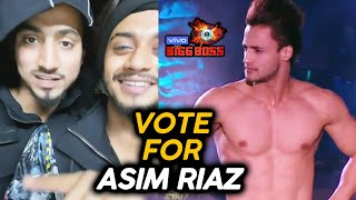 Bigg Boss 13 Finale Voting | Team 07 Mr Faisu And Hasnain Khan VOTE APPEAL For Asim Riaz | BB 13