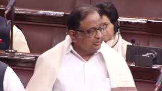 Budget Session 2020 | P Chidambaram in Rajya Sabha on State of Indian Economy