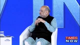 HM Shri Amit Shah attends Times Now Summit.