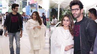 Sara Ali Khan MOST ROMANTIC Moment With Kartik Aaryan Promoting Movie Love Aaj Kal