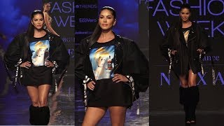 Sunny leone On Ramp In Lfw Sr 2020  | News Remind