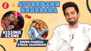 Ayushmann Khurrana's HILARIOUS Take On Kissing Jitendra Kumar In Shubh Mangal Zyada Saavdhan