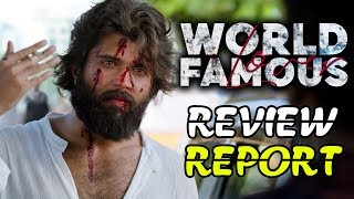 World Famous Lover Movie Review Report | Vijay Devarakonda | RashiKhanna | World Famous Lover Review
