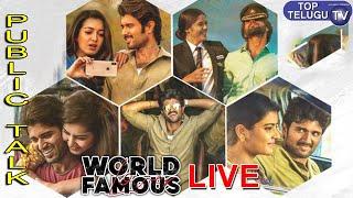 LIVE | World Famous Lover Movie Public Talk |Genuine Public Talk | Vijay Devarakonda | Top Telugu TV