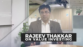 Rajeev Thakkar of PPFAS Mutual Fund talks about relevance of value investing in India