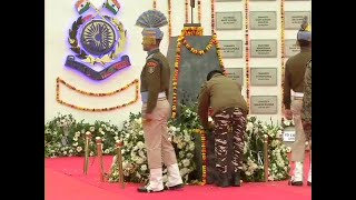 Pulwama attack anniversary: Visuals from memorial at Lethpora camp