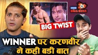Bigg Boss 13 GRAND Finale | Karanvir Bohra BIG COMMENT On Winner Of BB 13