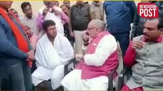 केंद्रीय मंत्री Giriraj Singh का वीडियो वायरल बेगूसराय एसपी की फोन पर ऐसे लगाई क्लास!