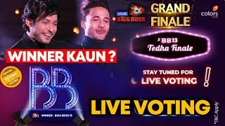 Bigg Boss 13 Grand Finale | Sidharth Vs Asim LIVE VOTING To Decide Winner | BB 13 Video