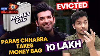 Bigg Boss 13 Grand Finale | Paras Chhabra Quit BB House With Money Bag 10 LAKH RS | BB 13