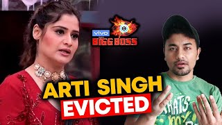 Arti Singh EVICTED From Bigg Boss 13 | BB 13 GRAND FINALE