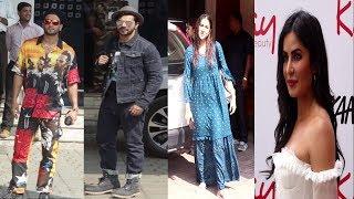 Katrina kaif, vaani kapoor, Sara Ali Khan,Ranveer Singh, Kartik Aryaan Spotted | News Remind