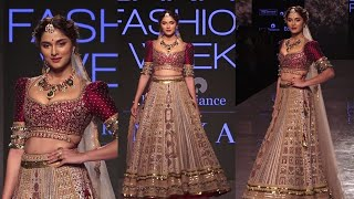 Sai Manjrekar  On Ramp In LFW SR 2020 | News Remind