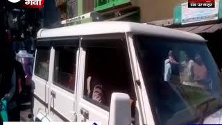 श्रीहरि बाबा महाराजा की रथयात्रा का भव्य स्वागत