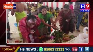 జమ్మికుంట లోని పంచముఖ హనుమాన్ దేవాలయంలో 9 వ వారికోత్సవం