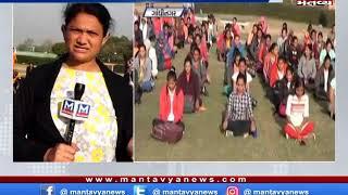સ્વાર્ણિમ ગાર્ડન પર પહોંચી યુવતીઓ