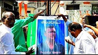 AkberUddin Owaisi Ki Photo Ko Doodh Se Nahlaya Gaya | Hindu Brothers Happy |