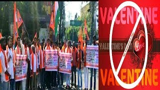 Bajrang Dal In hyderabad On 14 Feb | Black Day For Indians | Valentines Day !!! |