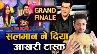 Bigg Boss 13 Grand Finale | Salman GIVES Last Task To TOP 5 Finalists | Sidharth, Asim, Sana, Rashmi