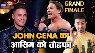 Bigg Boss 13 | John Cena FINALLY Does This For Asim Riaz On Grand Finale | BB 13 Video