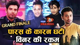 Bigg Boss 13 Grand Finale | WINNER Prize Deducted Because Of Paras Chhabra; Here's What Happened