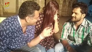 Khesari Lal Yadav Mehadi Lagake Rakhana 3 live Interview 2020