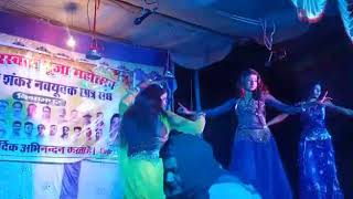 Live stage show rohtas sasaram || 4 डांसर ने पूरे जनता को झुमा के रख दी !! देखिये स्टेज पे क्या हुआ