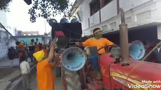 भोले शंकर नवयुवक छात्र संघ बिश्रामपुर रोहतास बिहार || ऐतिहासिक जुलूस भासान माता सरस्वती जी का जय माँ