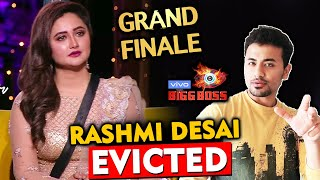 Rashmi Desai EVICTED From Bigg Boss 13 | BB 13 GRAND FINALE