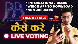 Bigg Boss 13 Grand Finale LIVE VOTING | FULL DETAILS | Voot, My Jio App | BB 13 Latest Update