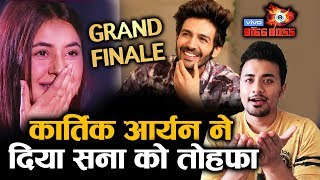 Bigg Boss 13 Grand Finale | Kartik Aaryan GIFT To Shehnaz Gill; Here's What | BB 13 Video